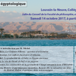 Egyptologie 14 oct 2017