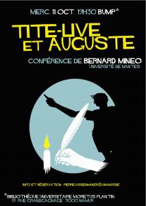 Conférence MInéo Namur